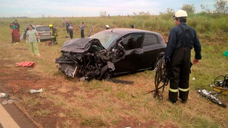accidente en ruta 14