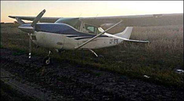 avioneta dejada