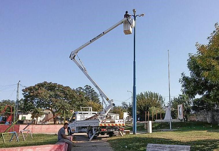 luminarias nuevas municipio de concordia