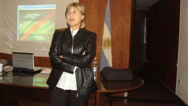 Coordinadora de Gabinete Maria de los Angeles Petit