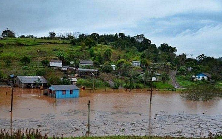 san tomé inundada 2017