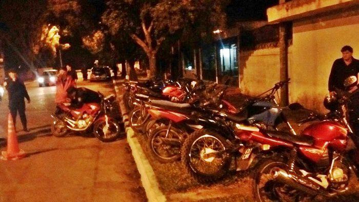 operativo de motos
