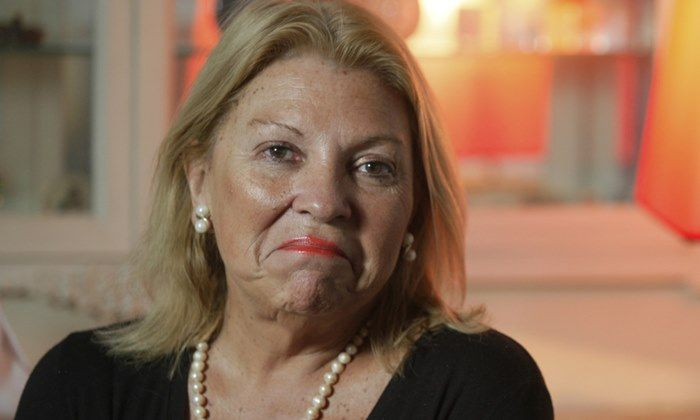 Elisa_Lilita_Carri— en su casa durante una entrevista. PTC      Hernan Zenteno   30_6_15