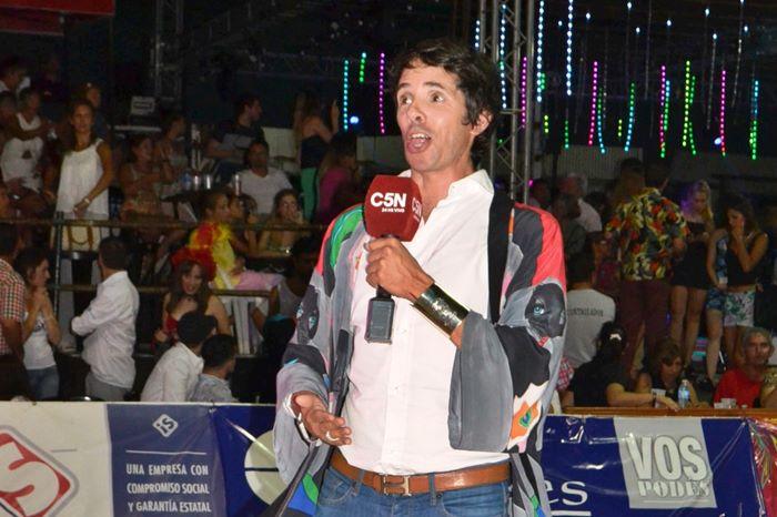 Robertito Funes C5N en el Carnaval de Concordia