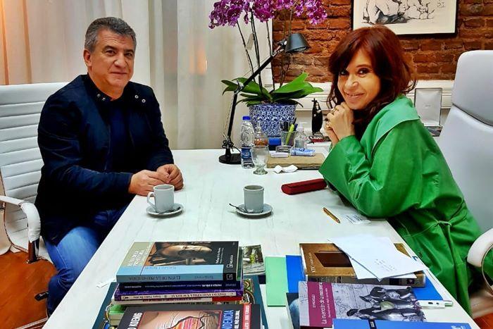 urribarri y CFK