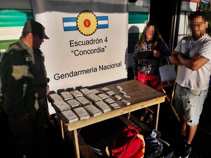 gendarmeria droga